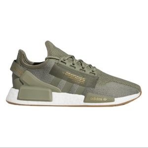 ADIDAS NMD R1 V2 Running Shoes in 'Legacy Green'